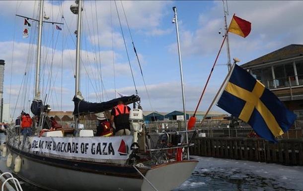 Ізраїль перехопив корабель під прапором Швеції