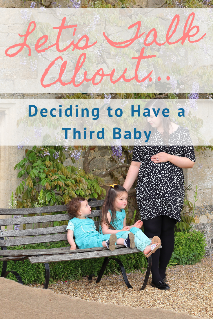PREGNANCY #3: Let's Talk About...Deciding to Have a Third Baby