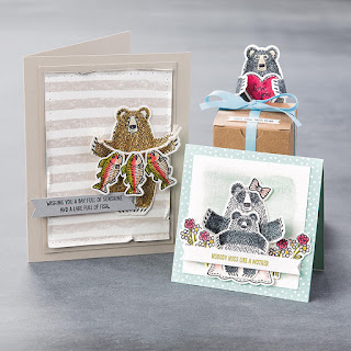 Stampin' Up! Bear Hugs Projects #stampinup 2016 Occasions Catalog