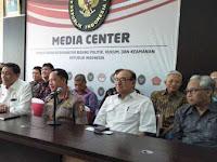 Wiranto: Ada Pejabat Lain Yang Diancam Seperti Saya