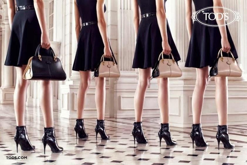 La familia Della Valle nos presenta la colección para otoño invierno de  zapatos y bolsos Tod s 98c844571ba5