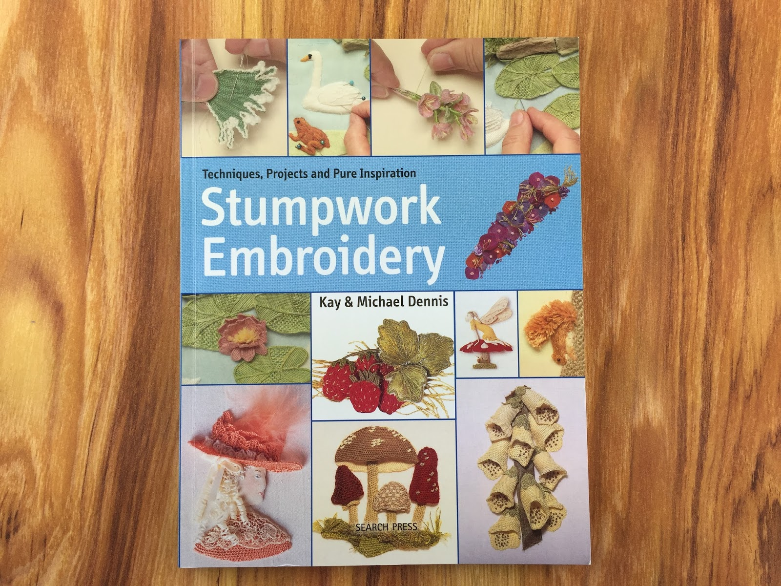 Feeling Stitchy Book Review Stumpwork Embroidery