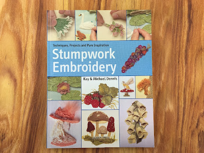 Stumpwork Embroidery review by Amy for Feeling Stitchy