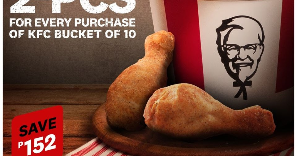 Manila Shopper: KFC Bucket-of-10 Delivery & Take-out Promo ...