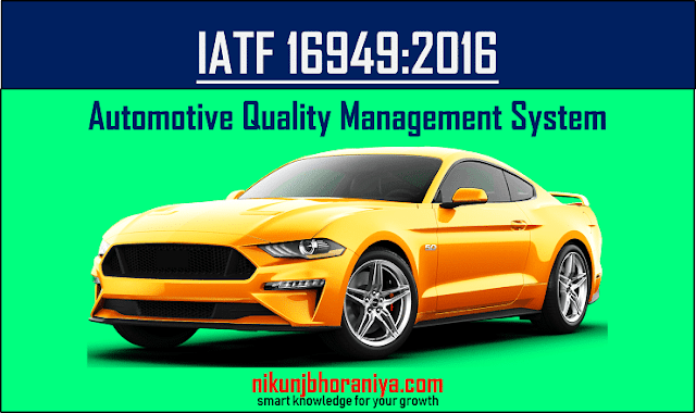 IATF 16949 Automotive Quality Management System
