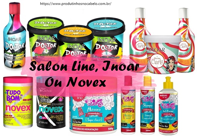 Salon Line, Inoar ou Novex?