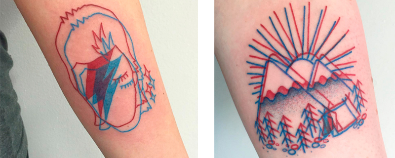 Tatuajes en 3 Dimensiones