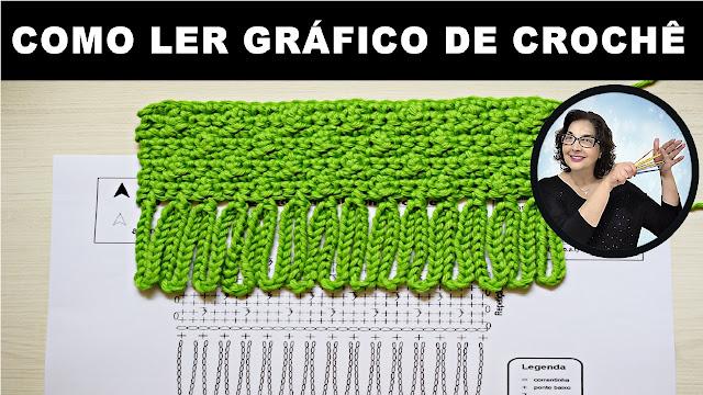 Aprenda Ler e Interpretar gráficos de crochê Curso Edinir Croche Online
