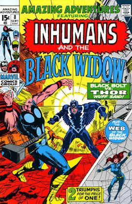 Amazing Adventures #8, Black Bolt vs Thor