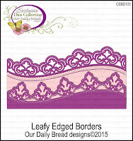 ODBD Custom Leafy Edged Borders Dies