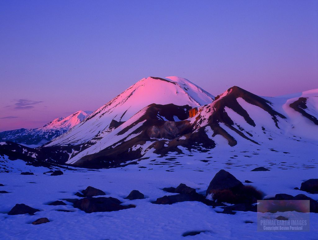 Sunrise Tongariro Crossing