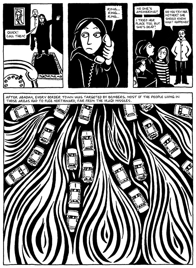 Read Chapter 12 - The Jewels, page 87, from Marjane Satrapi's Persepolis 1 - The Story of a Childhood