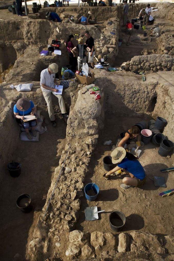 Ερείπια τεραστίων διαστάσεων στην γενέτειρα του Φιλισταίου γίγαντα Γολιάθ