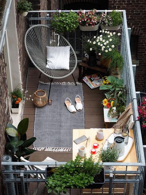 Cómo decorar balcones pequeños-10