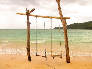 Pantai Kuta Mandalika Lombok NTB