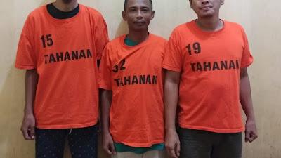 Tiga Kawanan Pencuri Rumah Kosong Dibekuk Satreskrim Polres Simalungun