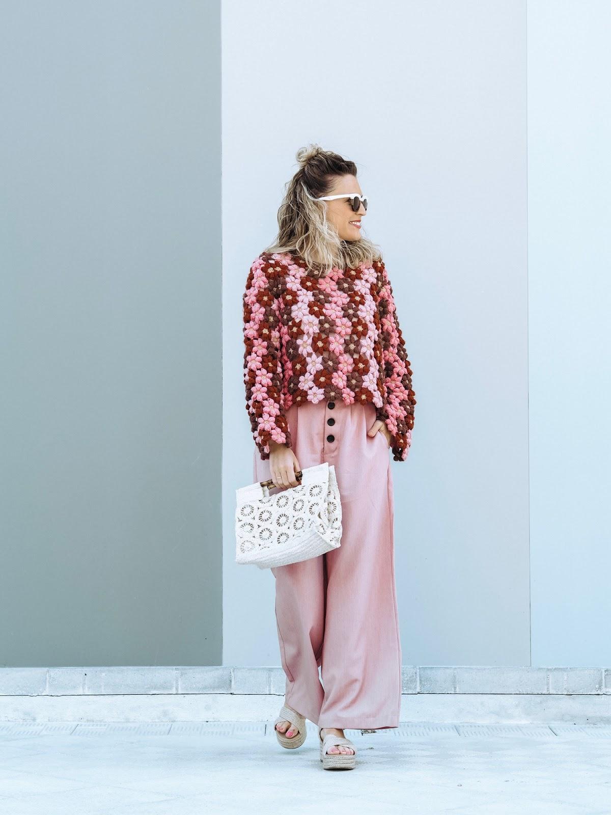 jersey flores crochet