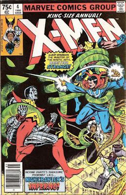 X-Men #4, Dr Strange