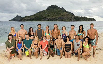 "The cast of ""Survivor: Ghost Island"""