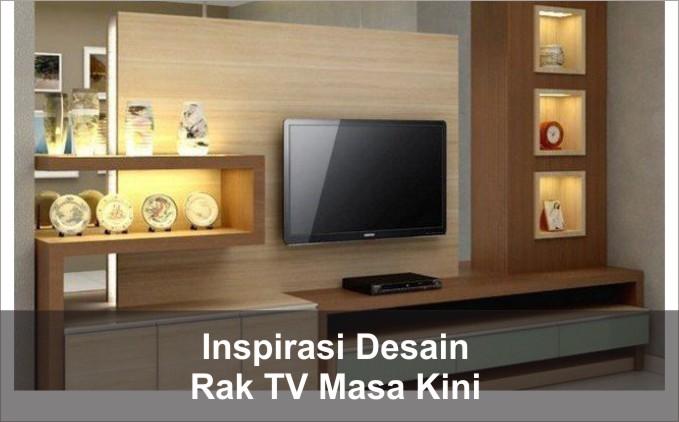 Desain Rak TV Masa Kini