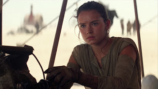 Star Wars The Force Awakens Daisy Ridley as Rey