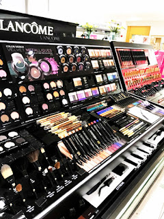 dillard's, wolfechase mall, lancome make-up