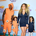 Mariah Carey and ex Nick Cannon attend the Kids Choice Awards in matching outfits