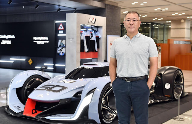 جيونغ أوي-سون، رئيس مجموعة هيونداي موتور