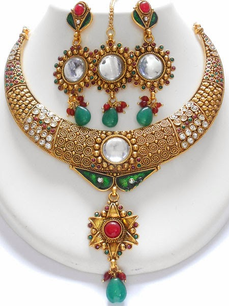 Beauty And Fashion Rajasthani Jewellery Sets