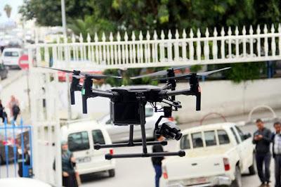 تونس تستعين بطائرات درون Drones لمواجهة وباء كورونا