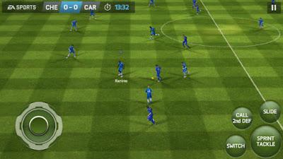 FIFA14 Mod FIFA18 Full Apk+Data OBB Fix Transfer 2018 Update Terbaru