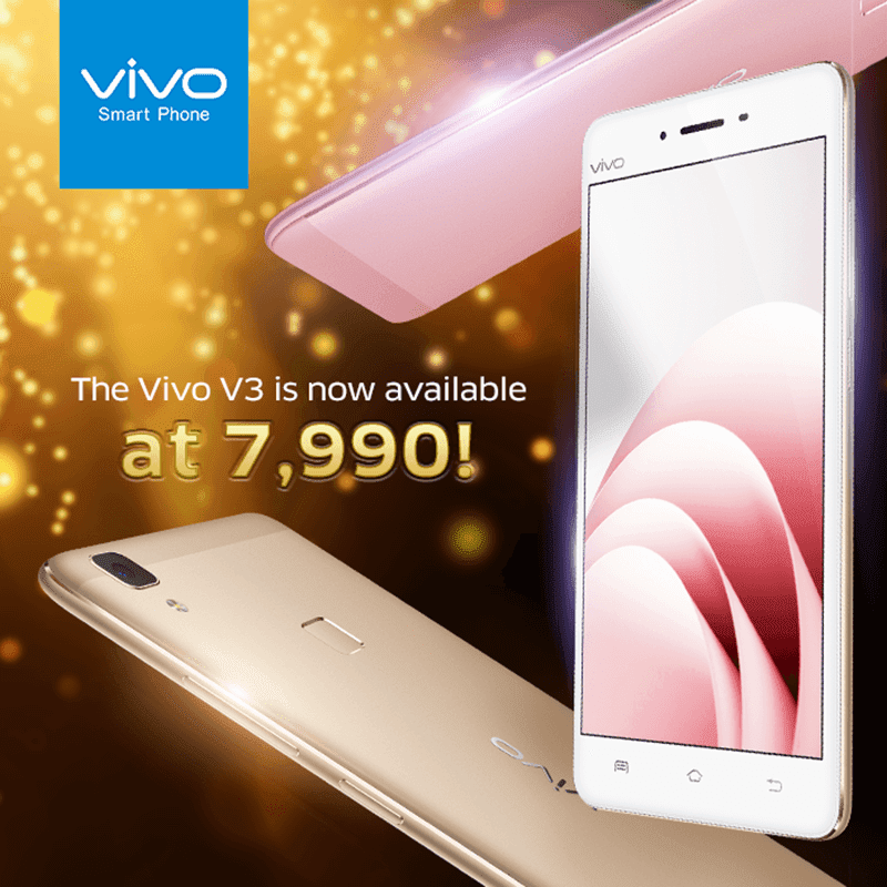 Sale Alert: Vivo V3 With HiFi Audio Is Down To PHP 7990!