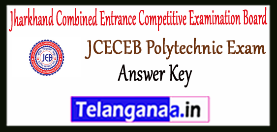 Jharkhand Polytechnic Entrance Answer Key 2018 Result Counselling