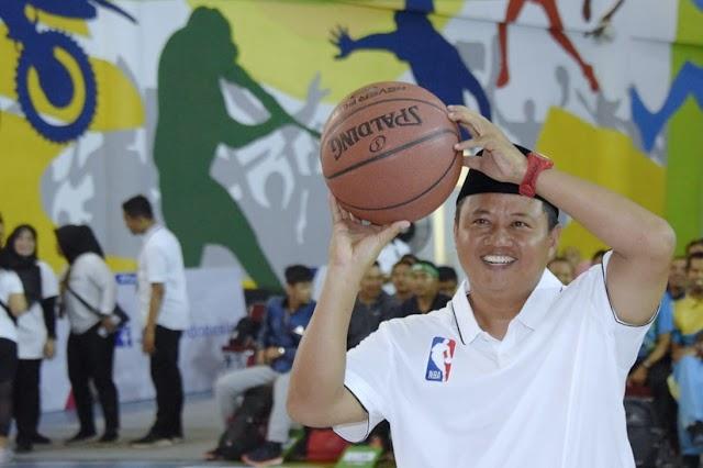 Wagub Jabar Buka Junior NBA Coaches Academy 2020 se-Jabar di Bandung  Diikuti  1.400 Guru Olahraga