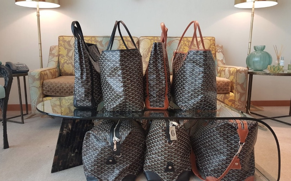 3a4c1b12f54 A display of bags on sale last summer at Barney's of New York Chicago.