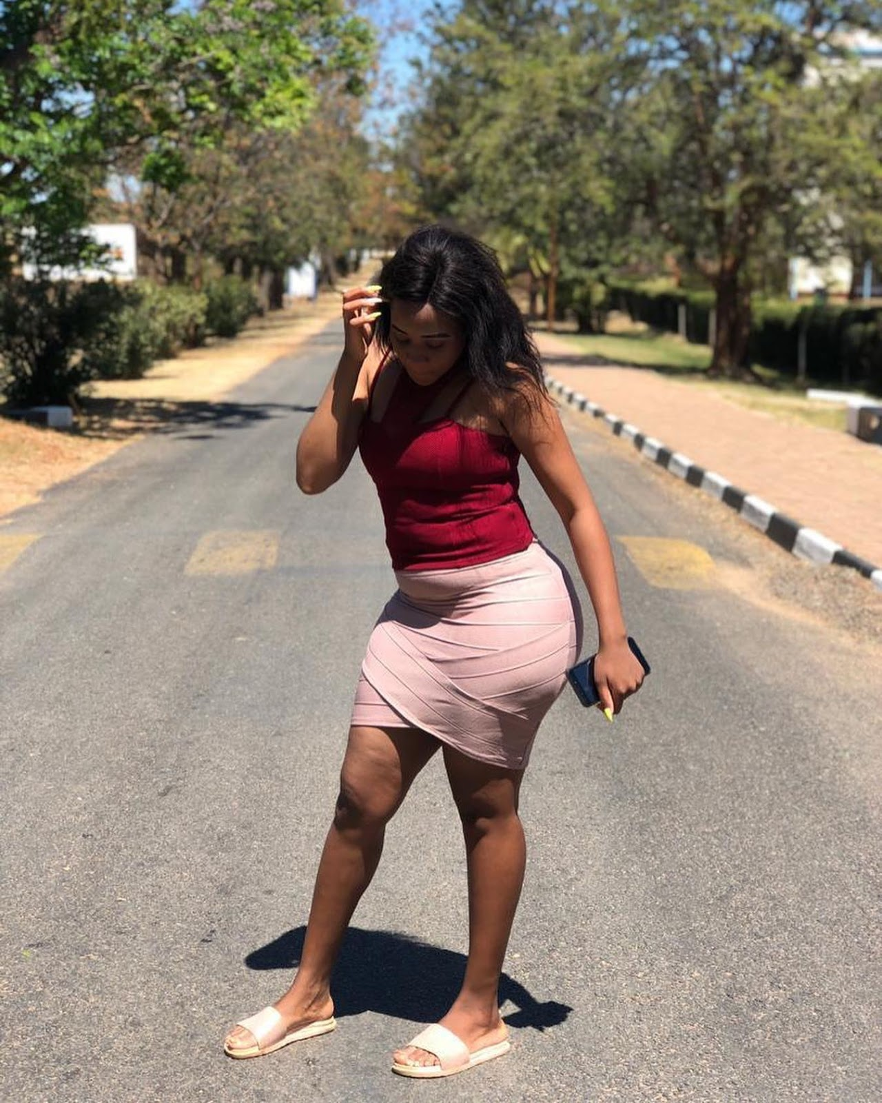 Pictures: MSU First Year Student Turns Lecturers' Heads With Beautiful Body!
