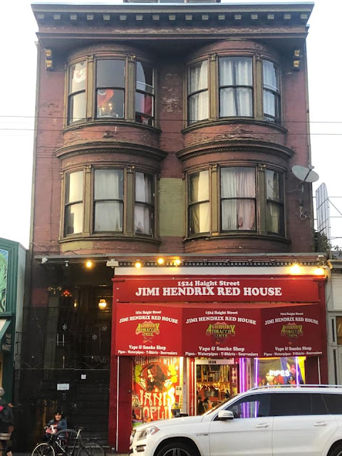 maison Jimi Hendrix Haight-Ashbury San Francisco
