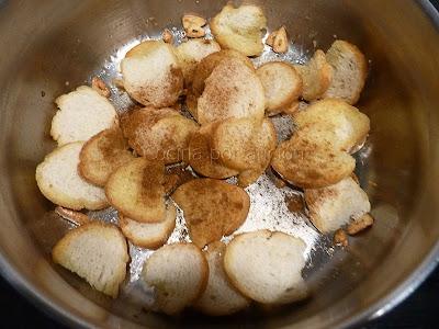 Sopa de ajo. Pimentón