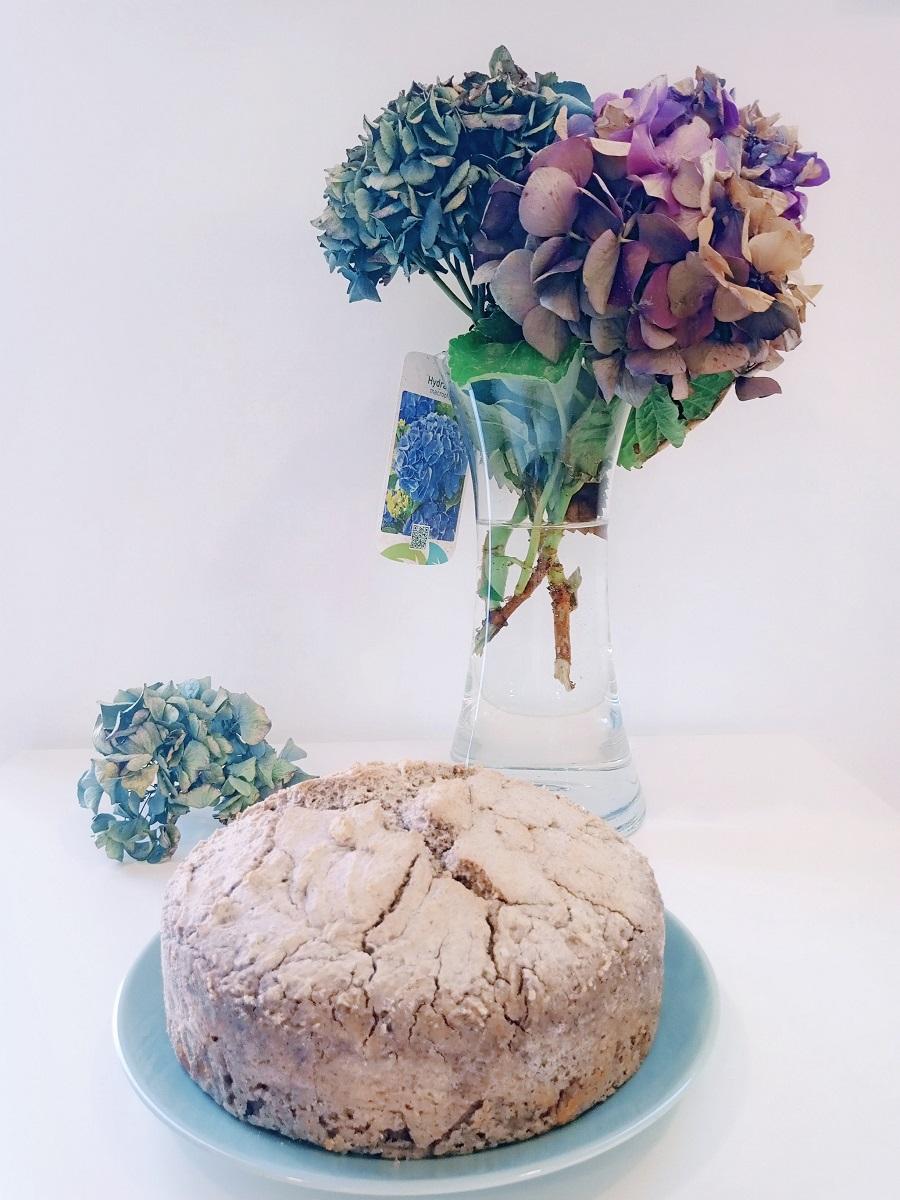Pão de trigo sarraceno integral
