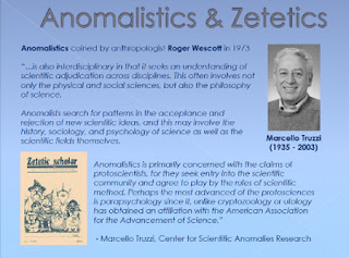 Anomalistics and Zetetics - Marcello Tuzzi