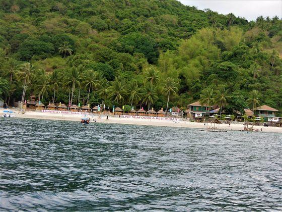 Island-hopping at Anilao Beach Club