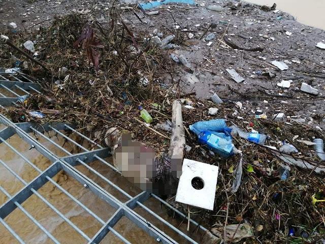 عاجل تونس : بالصور فظيع العثور على جثة آدمية مقطوعة نصفين في باراج المنزه الثامن