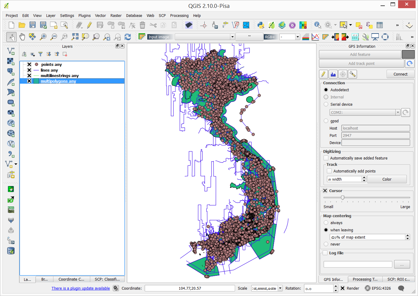 NUGIS :: Free and Open Source GIS // Geoinformatics