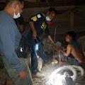 Polsek Belawa Menangkap Pencuri Mesin Pompa Air