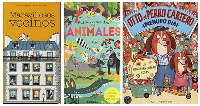 cuentos infantiles libros juego fomentar lectura a partir de jugar buscar y encontrar