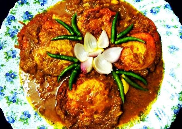 Egg Poached Curry Recipes - ডিম পোচ কারি রেসিপি - Home Made