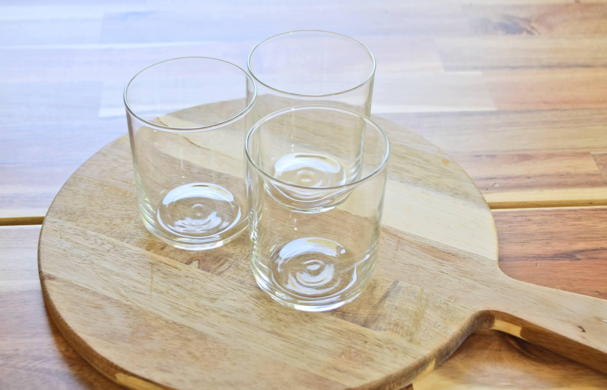 komplet szklanek do wody