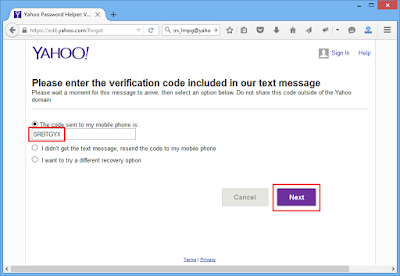 Mengatasi Lupa Password Email Yahoo (2015)