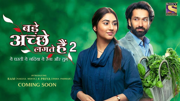Sony TV Bade Achhe Lagte Hain 2 wiki, Full Star Cast and crew, Promos, story, Timings, BARC/TRP Rating, actress Character Name, Photo, wallpaper. Bade Achhe Lagte Hain 2 on Sony TV wiki Plot, Cast,Promo, Title Song, Timing, Start Date, Timings & Promo Details