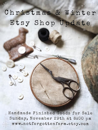 Sunday, November 29th at 8:00 pm {EST} ~ Join us for our Annual Christmas Update in our Etsy shop